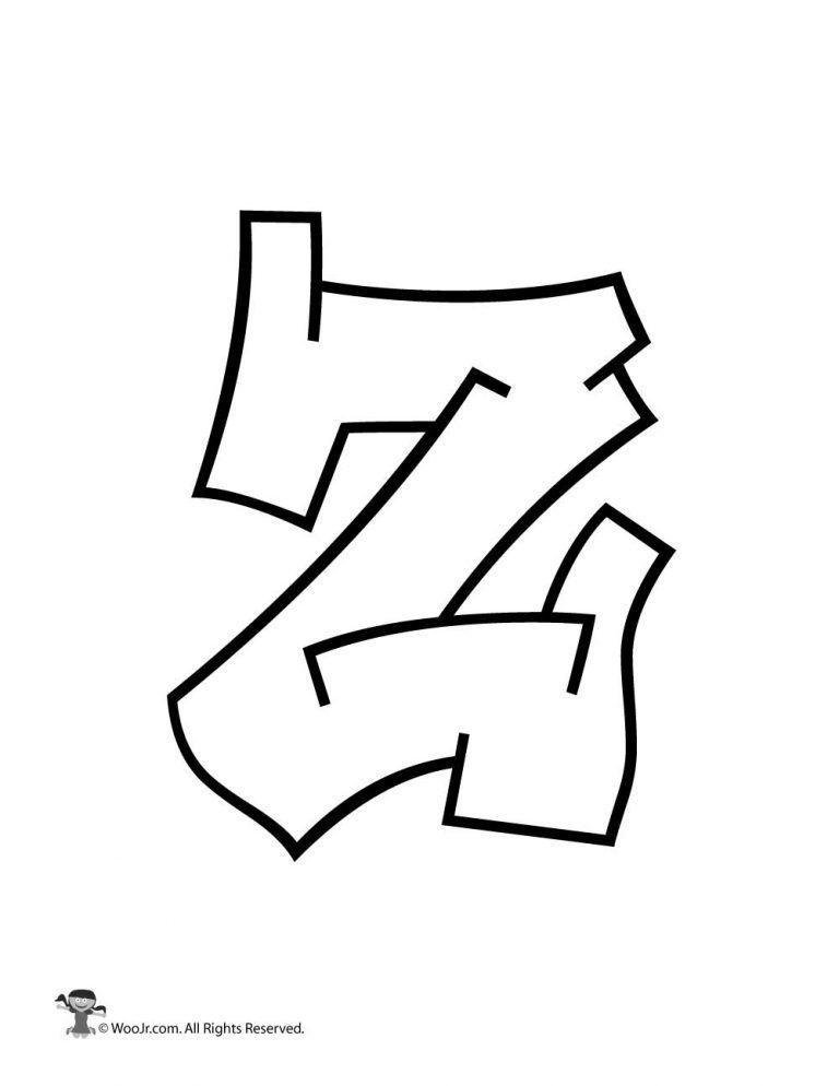 Graffiti Capital Letter Z in 2019 | Graffiti | Graffiti alphabet