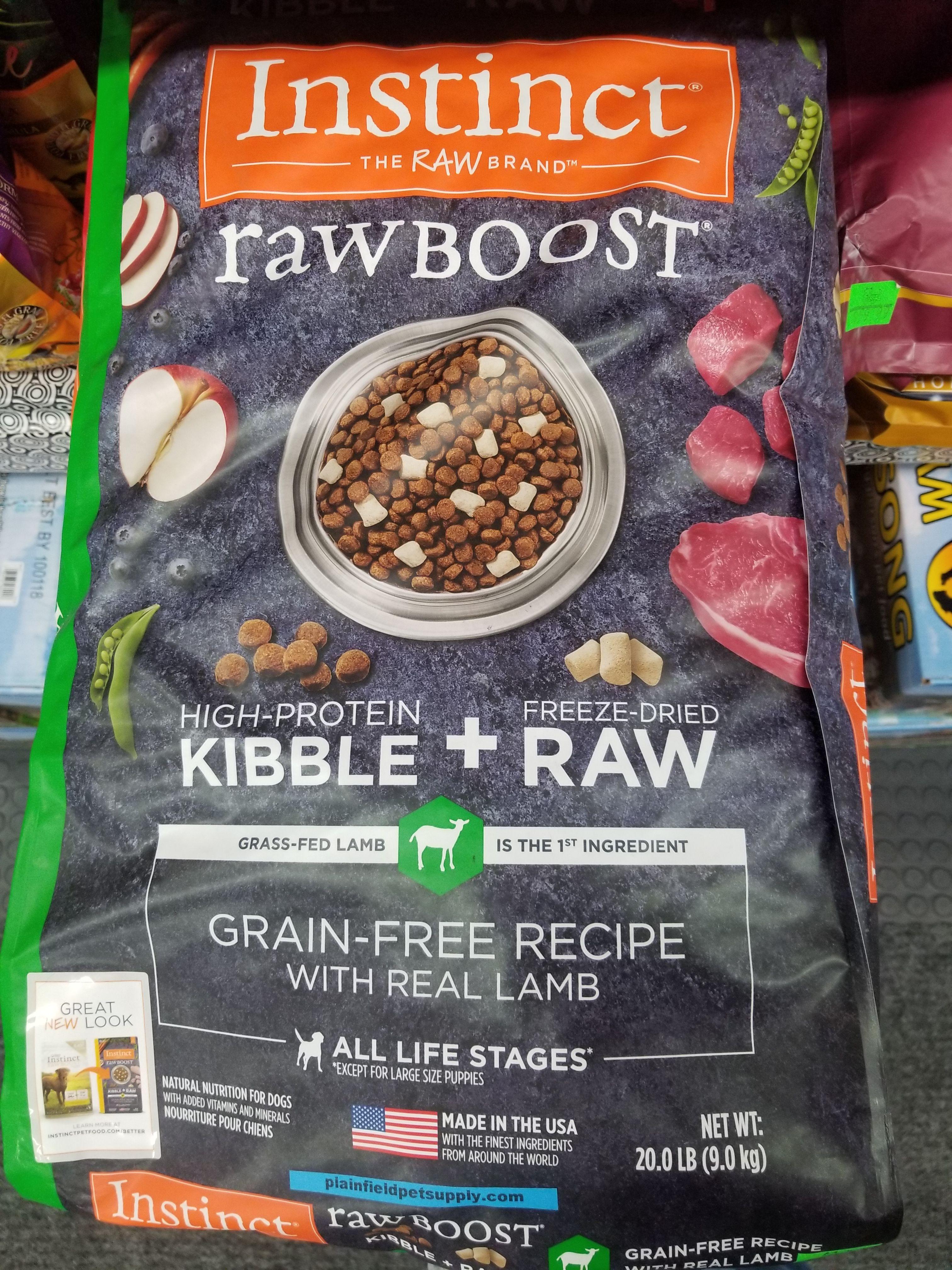 Instinct Raw Boost Dog Food Combines Grain Free High Protein