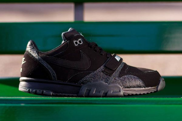 Nike Air Trainer 1 Low ST Black Elephant
