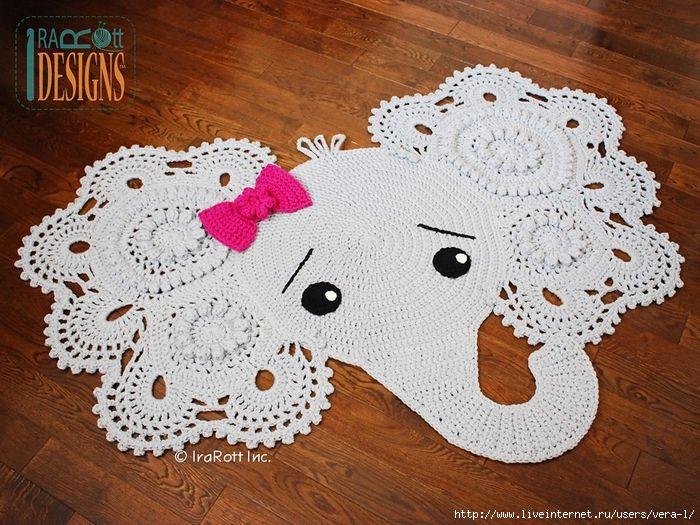 Pin de Elena liz en Bellas creaciones a crochet | Pinterest ...