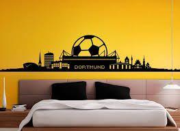 Bildergebnis Fur Dortmund Skyline Bvb Wandtattoo Borussia