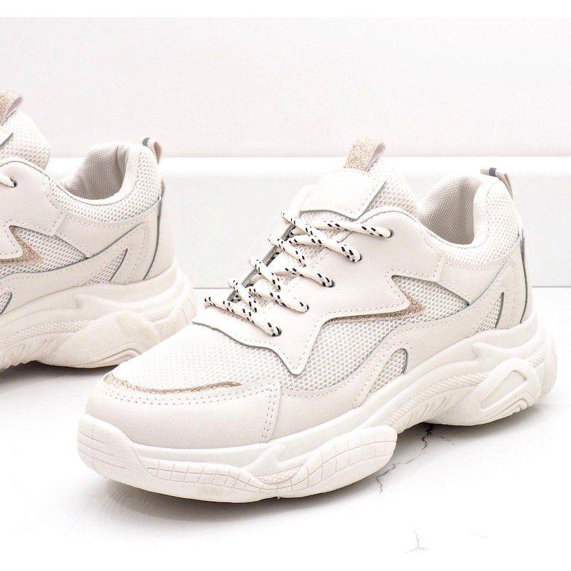 Bezowe Modne Damskie Obuwie Sportowe 7939 Sp Bezowy Shoes Sneakers Air Jordan Sneaker