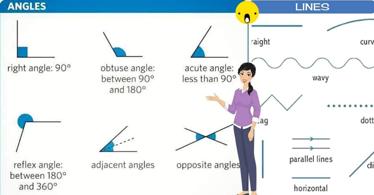 English Vocabulary: Lines and Angles   English Vocabulary
