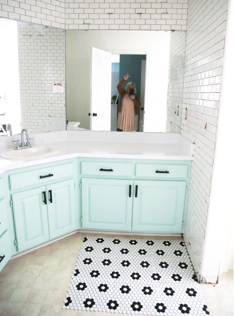 How to tile your bathroom floor / phase two » Be Crafty   H O M E ...