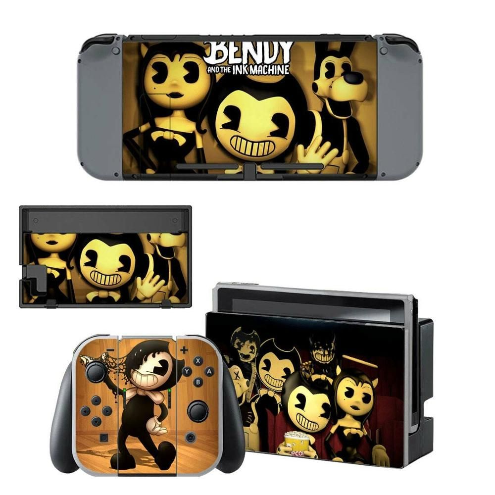 Bendy And The Ink Machine Nintendo Switch Skin Sticker Vinyl