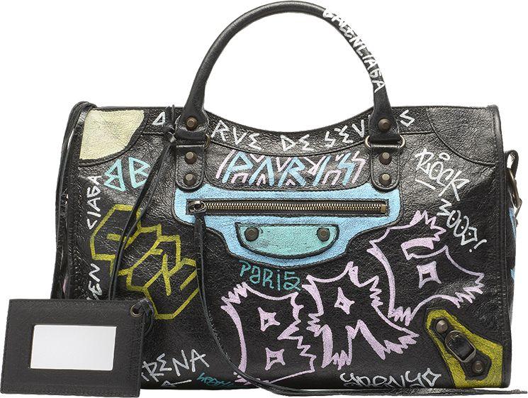 c12c2ad5c4d Balenciaga Graffiti Bags | Bag Patterns & Design | Balenciaga ...