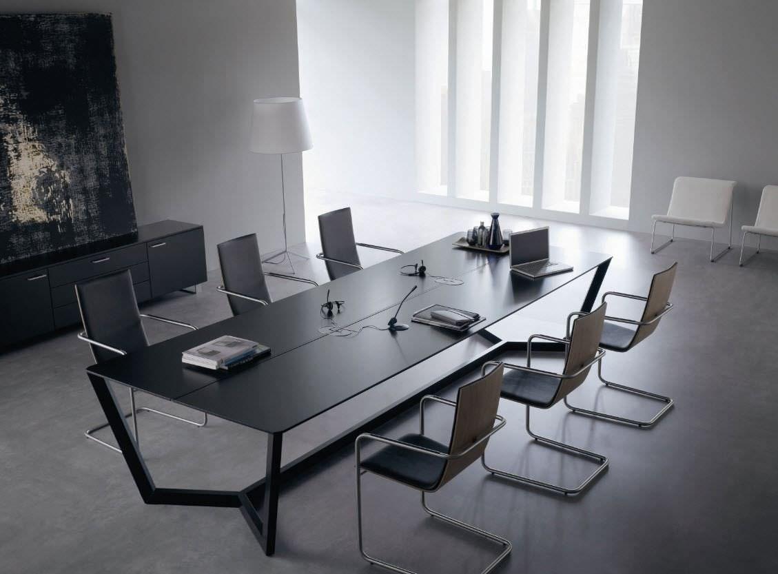 Mesa de reuni n lorca de abad dise o salas de reunion en for Mesas de despacho modernas