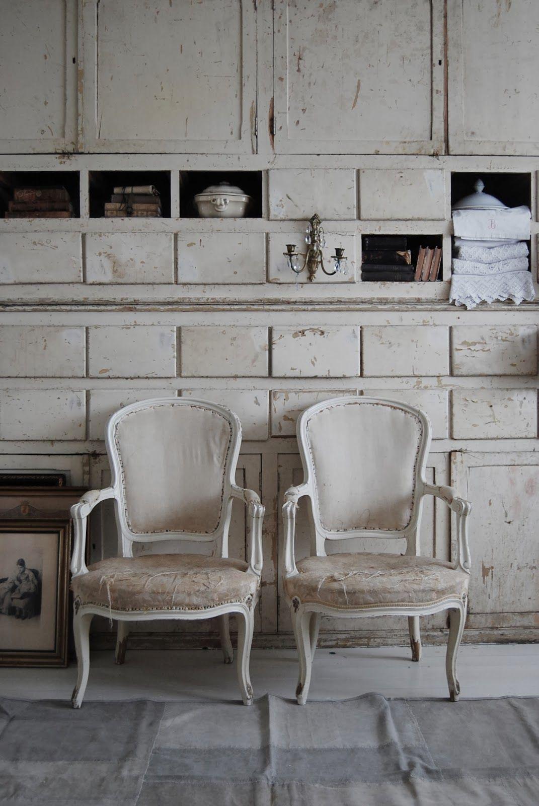 White wall of storage