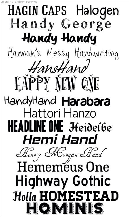 Hot fonts pinterest fonts scrapbooking and craft hot fonts fonts that start with h 19 free fonts no links but most can be found with a google search two mistakes on list hemi hand should be thecheapjerseys Images