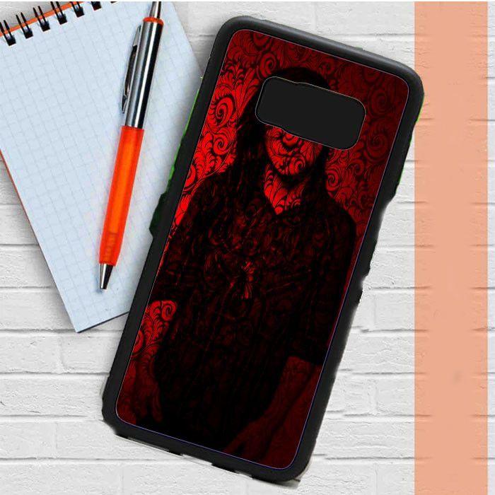Skrillex Sonny More Red Flower Samsung Galaxy S8 Plus Case Casefreed
