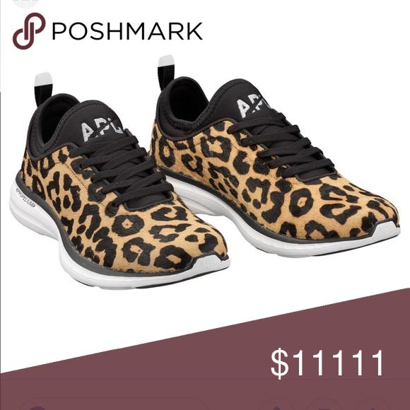 APL leopard techloom phantom sneaker