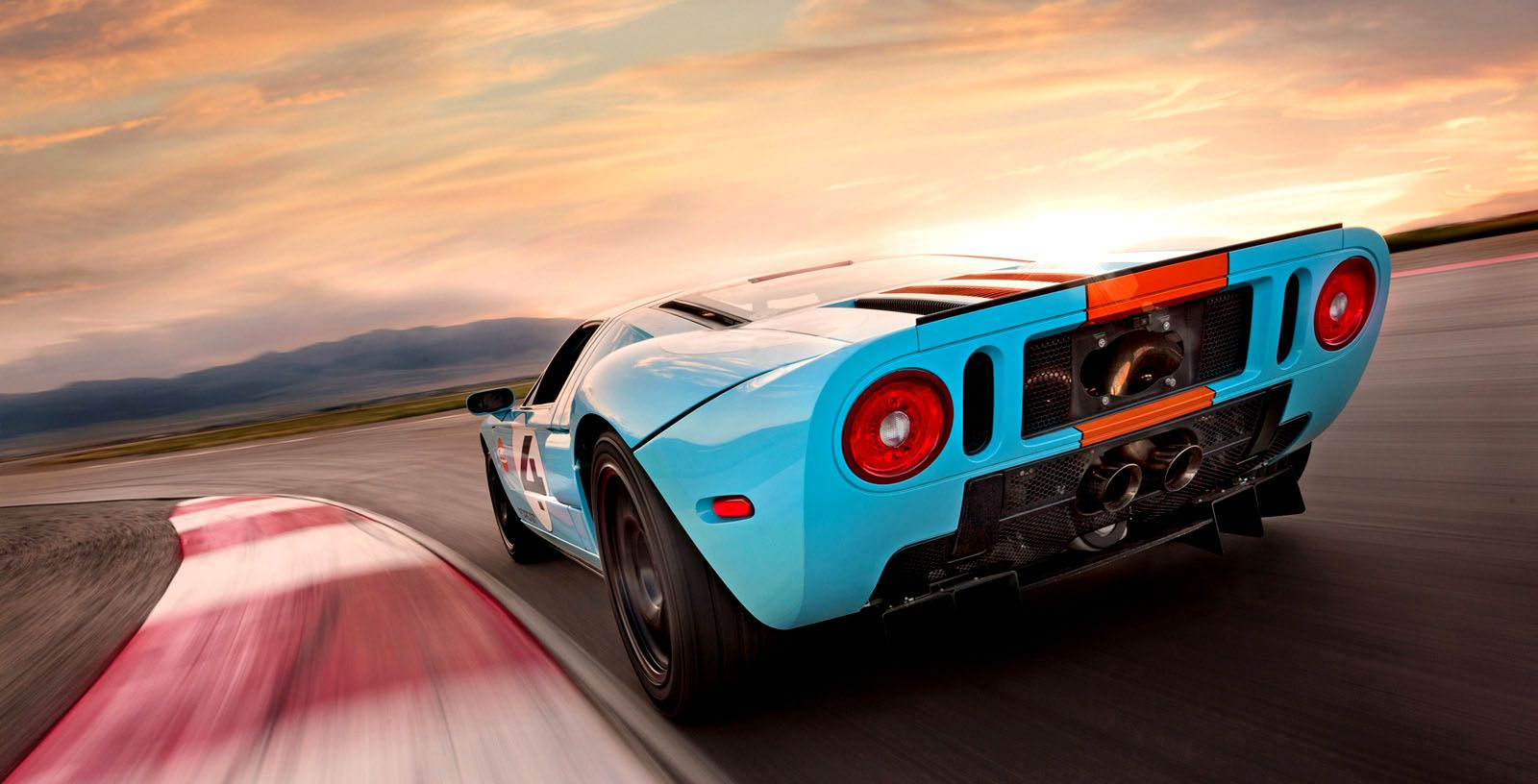 Ford Gt Gulf Ford Gt Ford Gt40 Car Ford
