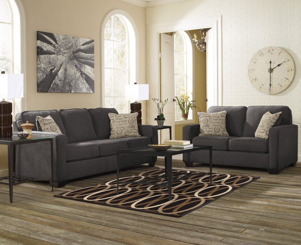 Phinnaeus 2 Piece Living Room Set