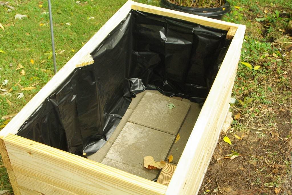 It's Not Work, It's Gardening! Another bamboo planter box