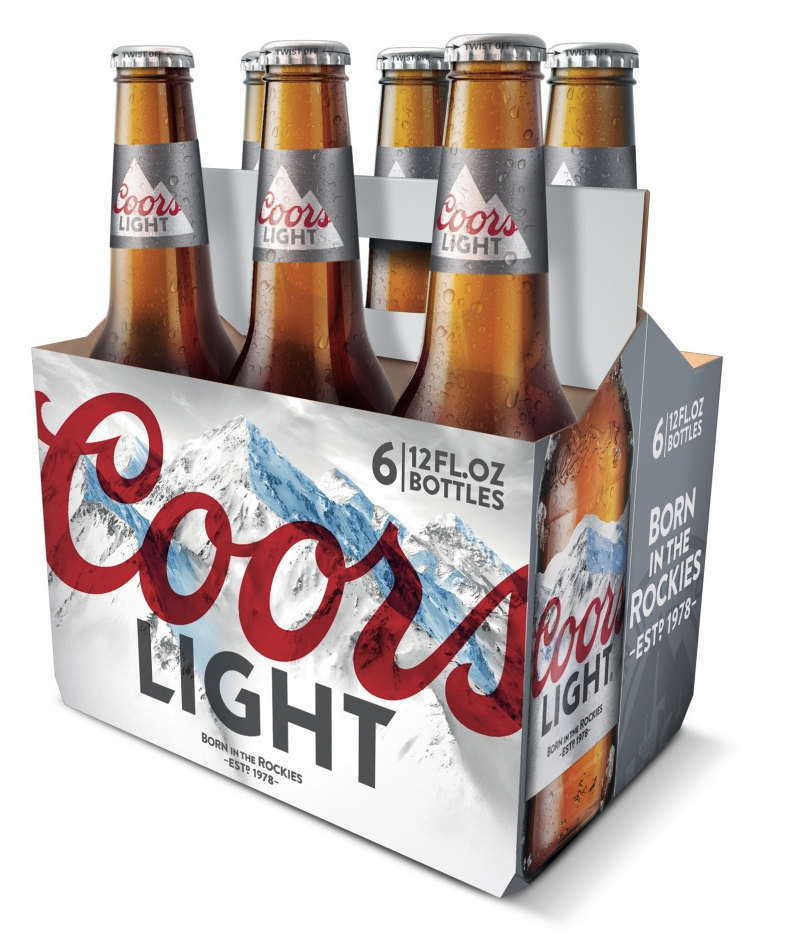 02 Coors Light Png 786 938 Coors Light Botellas Cerveza