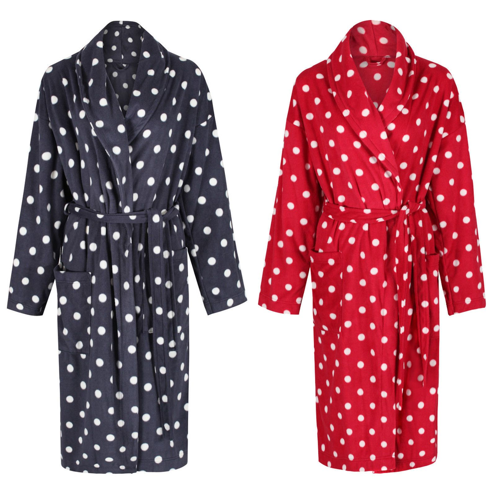 Ladies womens marks & spencer belted dressing gown 4 designs m&s ...