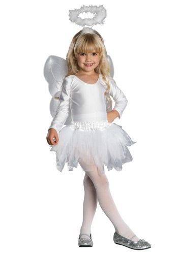 Trajes De Angel Para Ni A Girls Angel Costume Angel Halloween Costumes Toddler Angel Costume