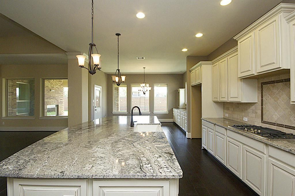 Image Result For Almond Kitchen Cabinets With Countertop