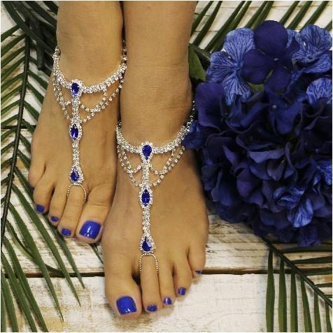 e7d2ba10083ee SOMETHING SAPPHIRE barefoot sandals - royal blue