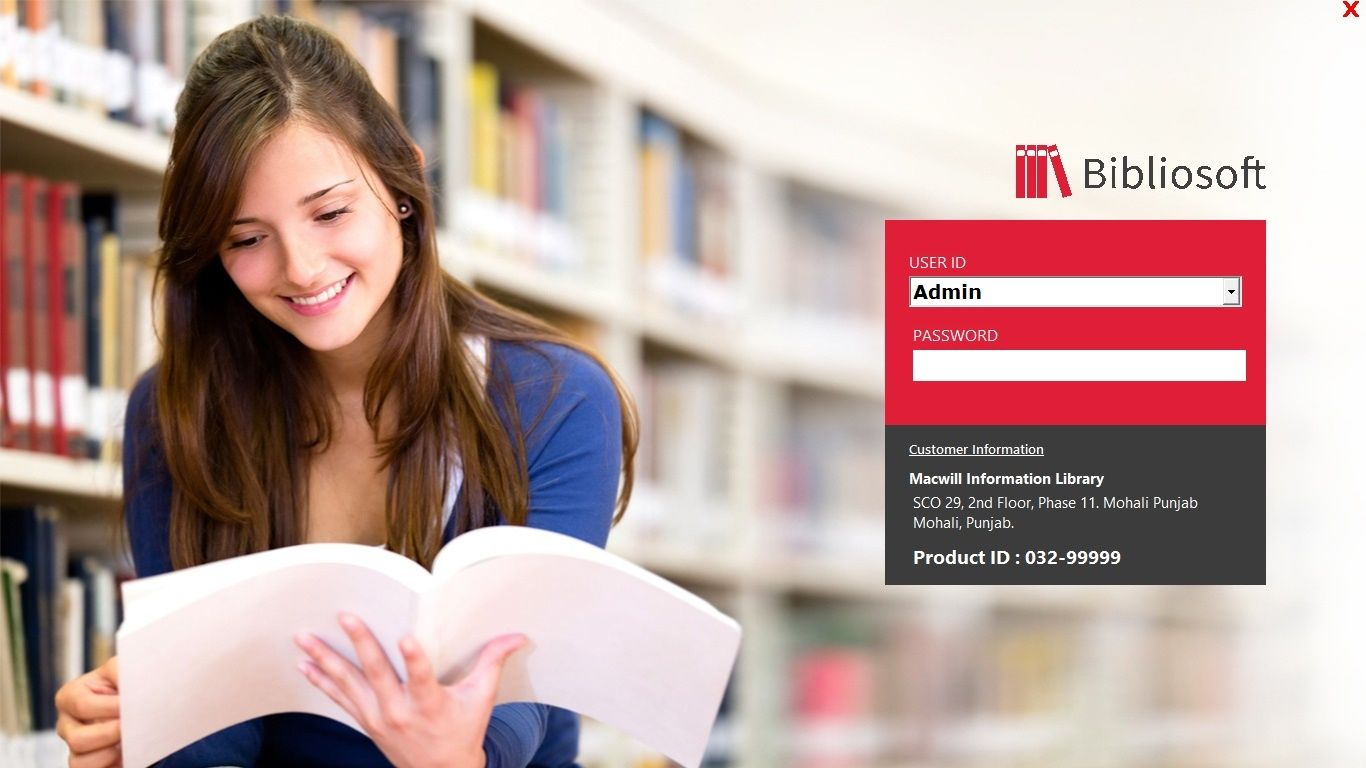 Library Management Software integrated with Student