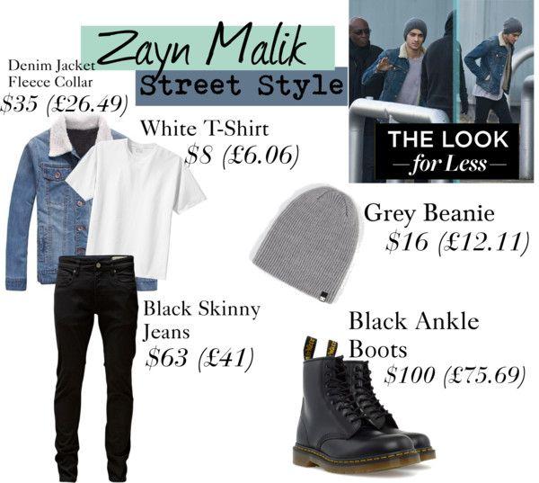 """""""Zayn Malik Style Street"""" by brandonstyle ❤ liked on Polyvore"""