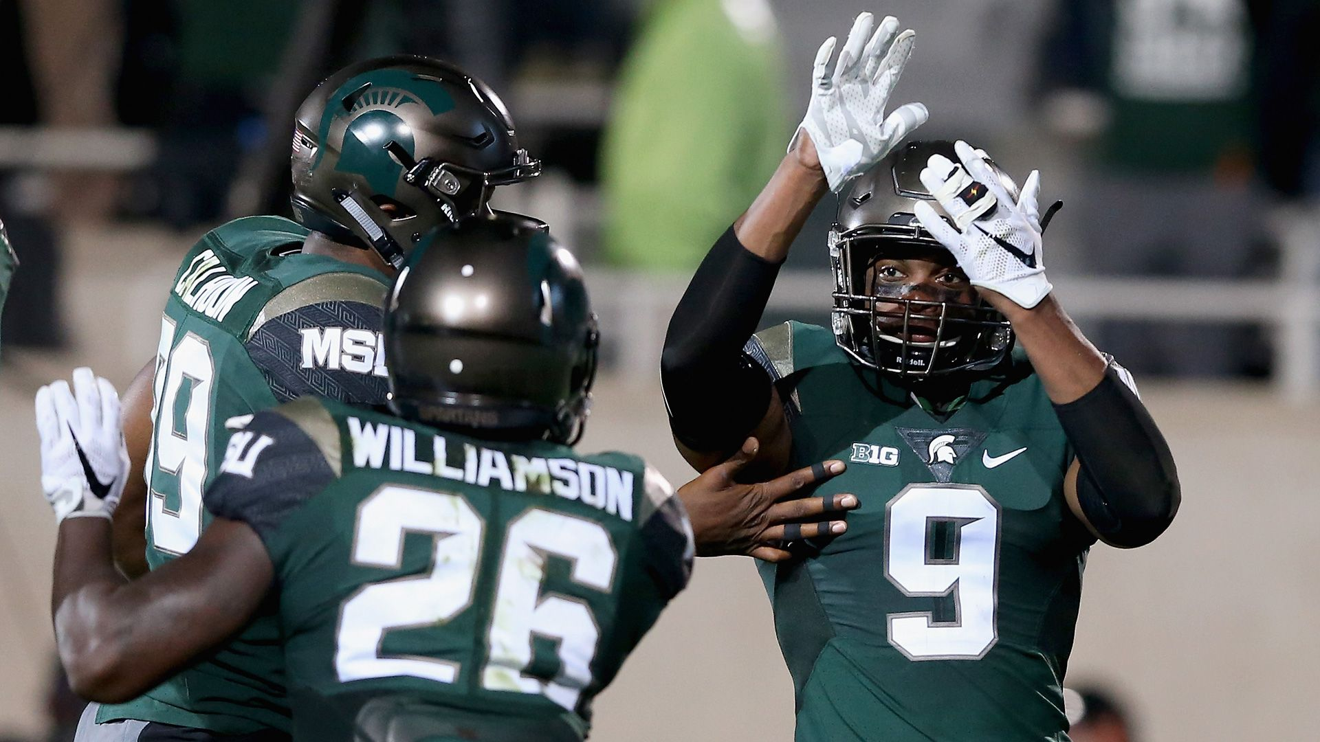 Purdue at Michigan State College football top 25