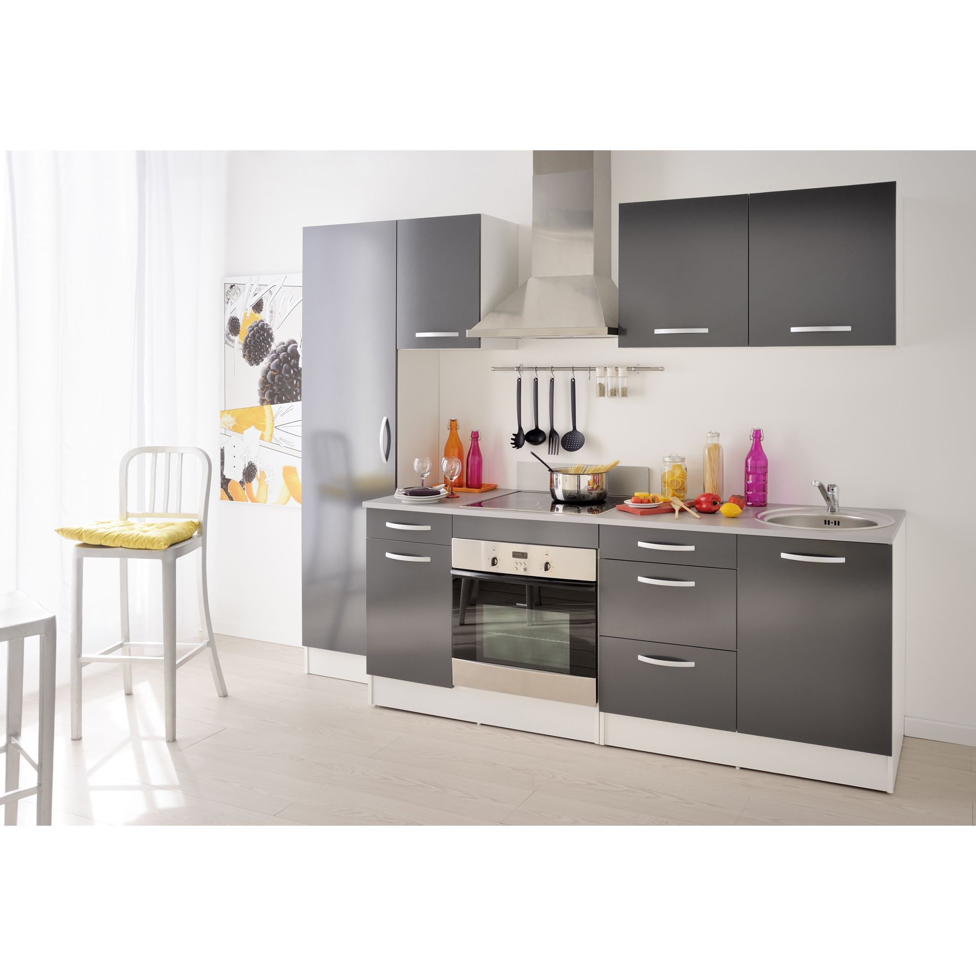 eko cuisine cuisines modulables meubles de cuisine gamme de meubles de cuisine gris pour la. Black Bedroom Furniture Sets. Home Design Ideas