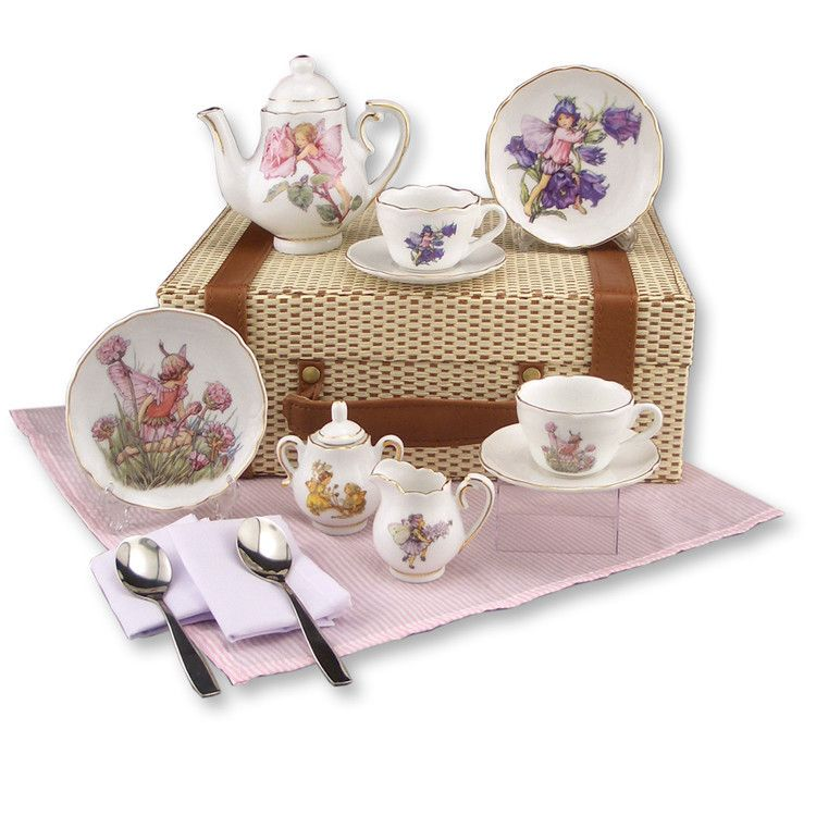 Flower Fairies Medium Tea Set