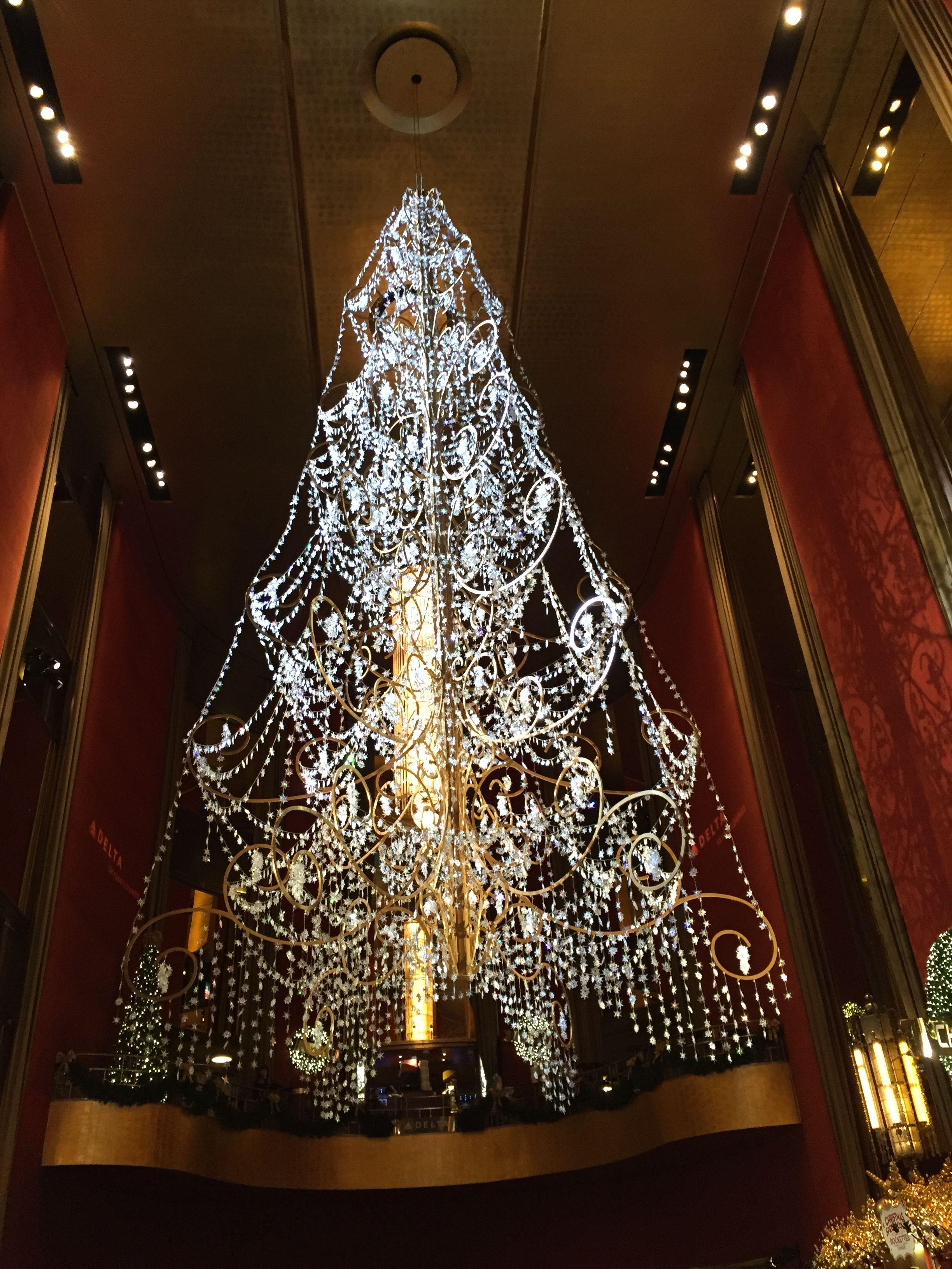 The Christmas Tree at Radio City Music Hall Christmas