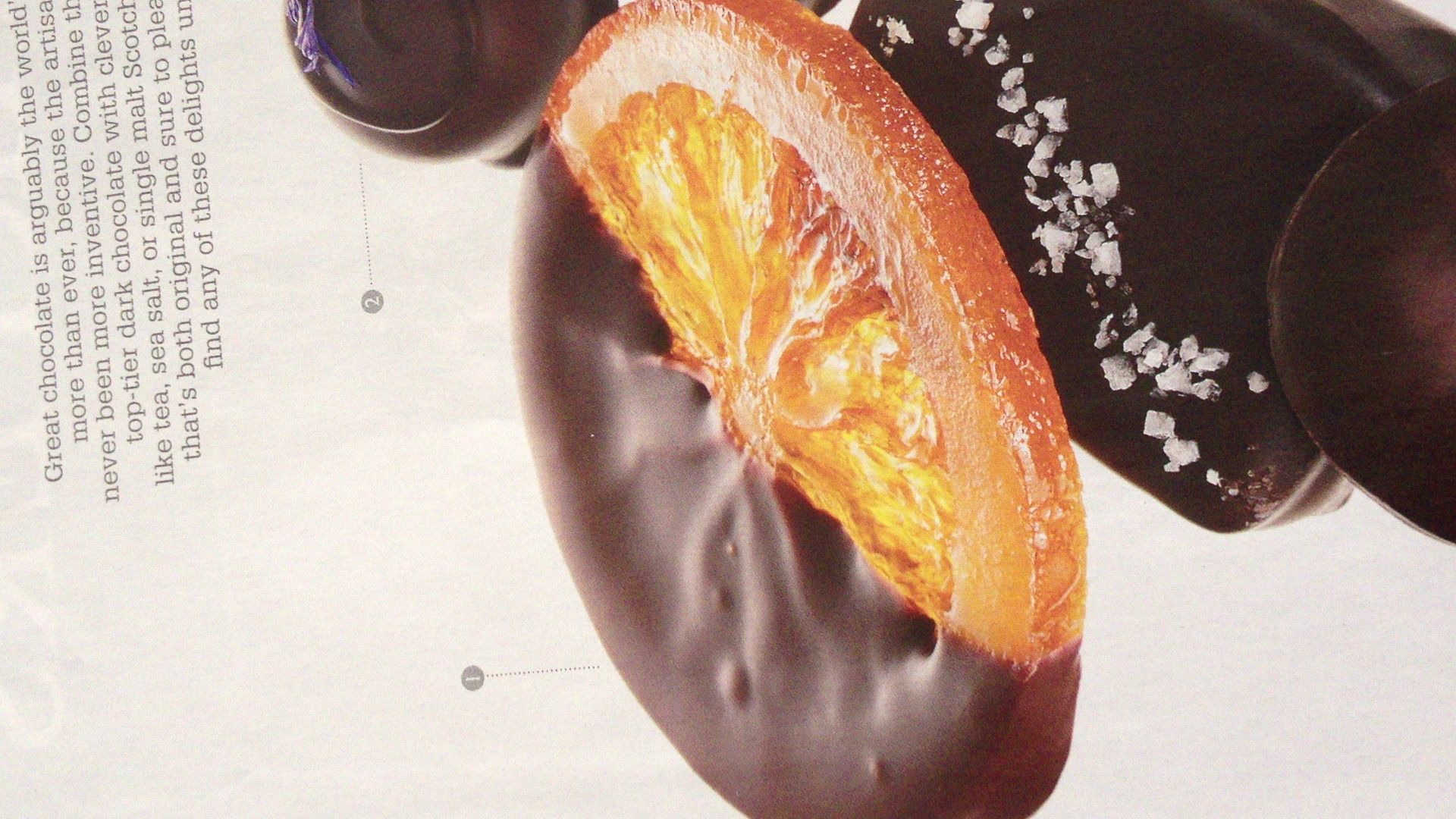 Megan Romano chocolate dipped candied orange slices: my ultimate guilty pleasure <3