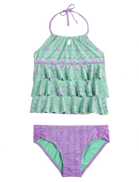 Justice Tribal Print Tankini Swimsuit Found On My New Favorite App Dote Shopping Doteapp Shopping Swimsuits Girls Swimsuit Cute Bathing Suits