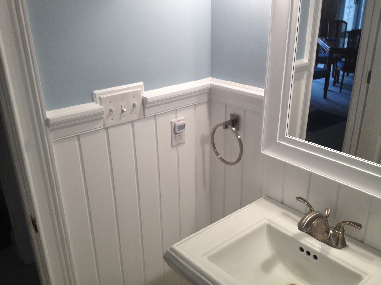 Chair Rail In Bathroom Part - 46: 30+ Best Chair Rail Ideas, Pictures, Decor And Remodel