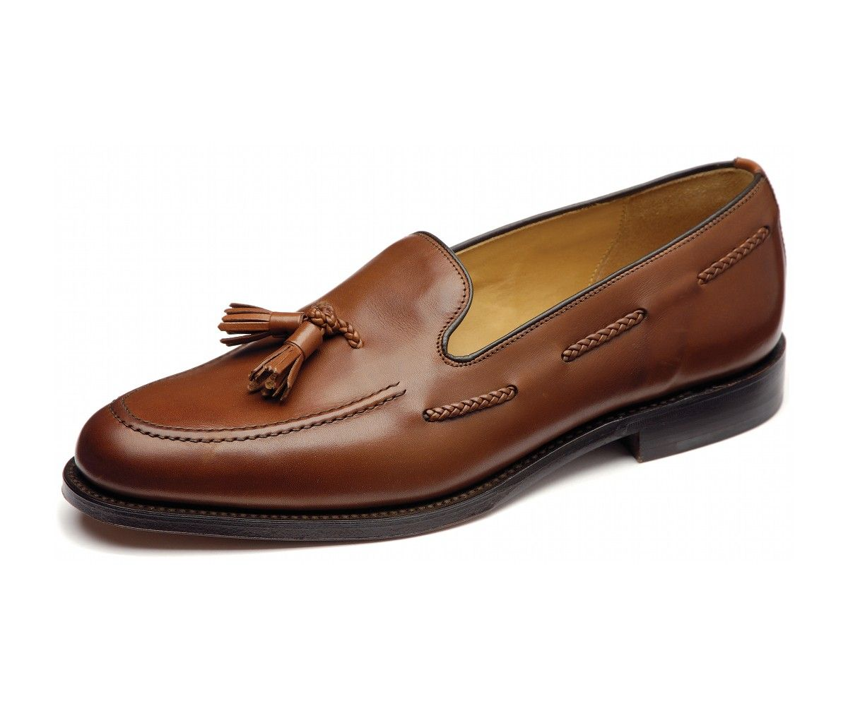 Loake tassel loafer