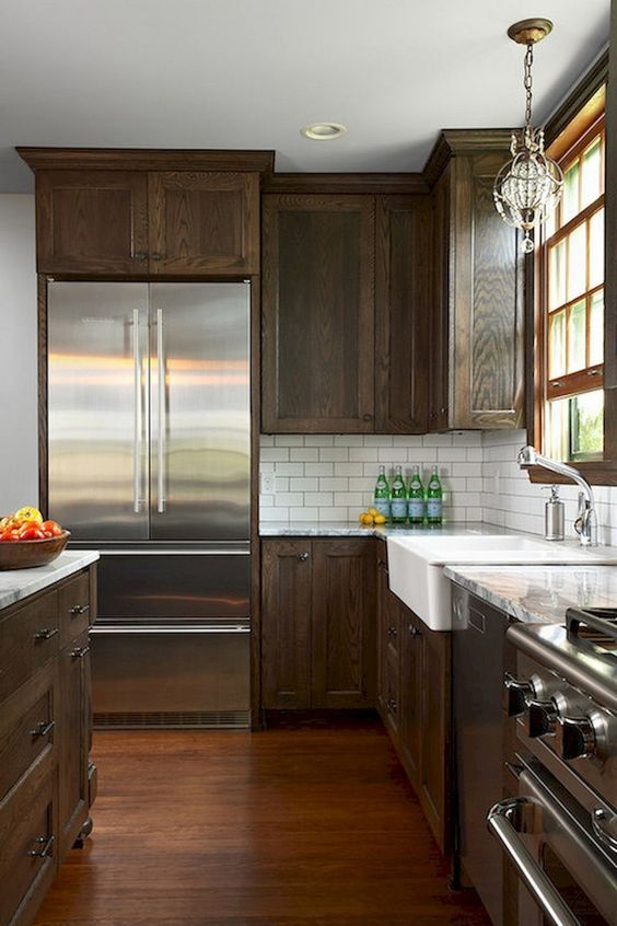 Check If Tarun Likes This Color More In 2020 Stained Kitchen Cabinets Kitchen Renovation New Kitchen Cabinets