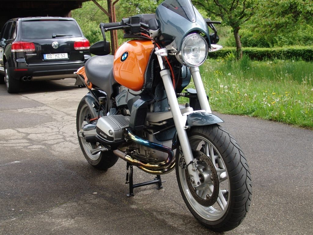 bmw r1100r umbau uniklat in auto motorrad fahrzeuge. Black Bedroom Furniture Sets. Home Design Ideas