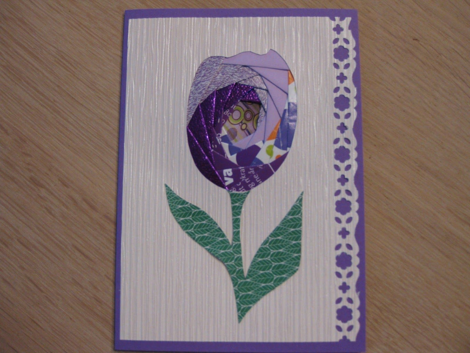 Kort hjørnet: Iris foldning