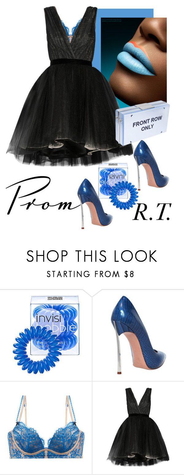 """R.T.-1121 Prom Do-Over: Your New Dream Dress-1"" by sopo-davituri on Polyvore featuring мода, Invisibobble, Casadei, Heidi Klum Intimates, Alice + Olivia и Eshvi"