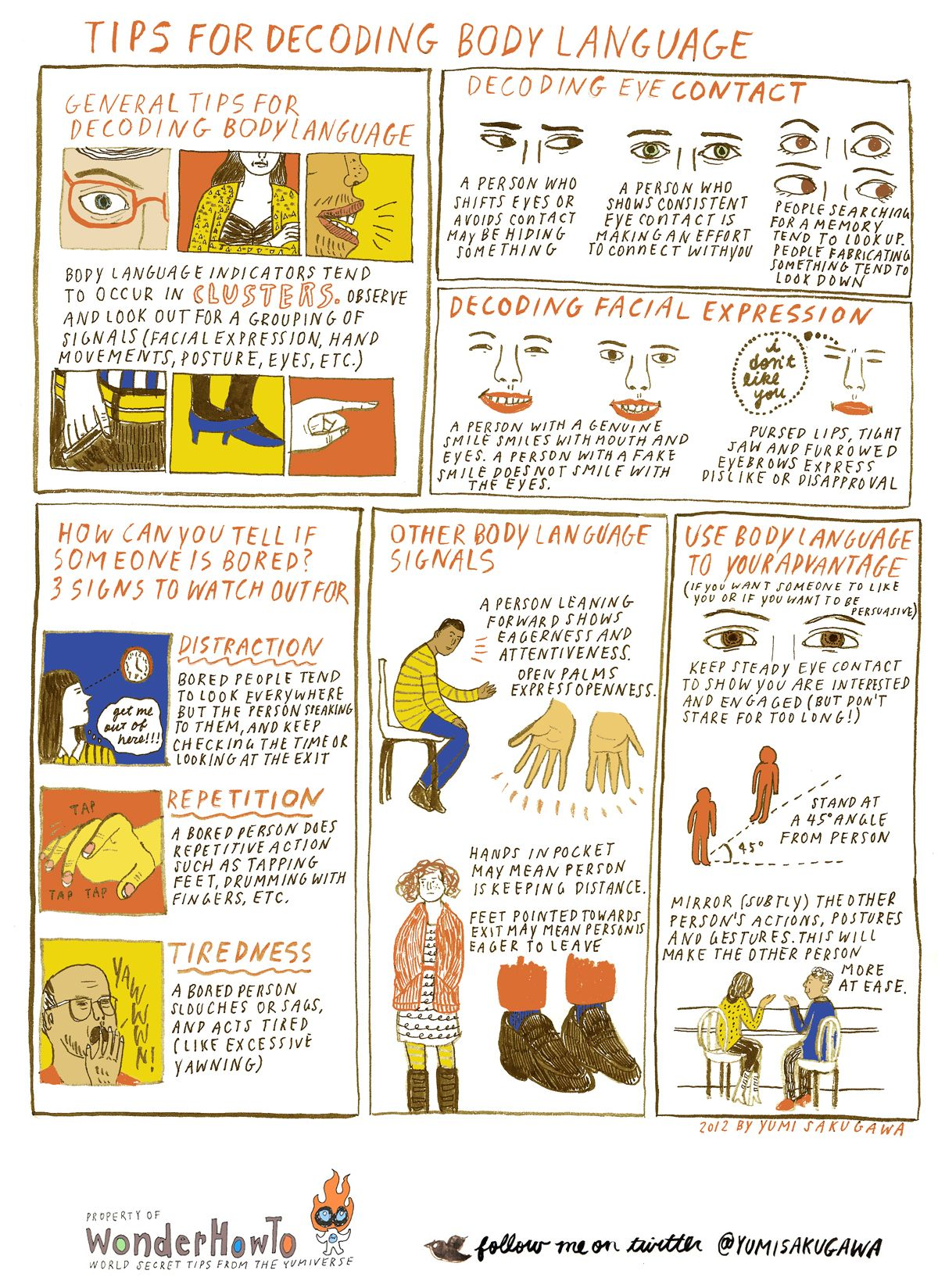 Tips For Understanding And Decoding Body Language