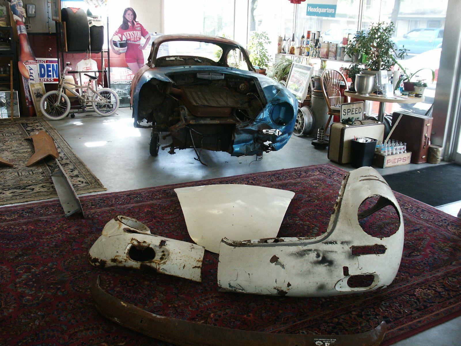 1963 Porsche 356 B T6 Coupe Restoration Project | Project cars for ...