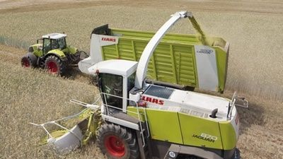 Forage harvesters - Product history | CLAAS Group -