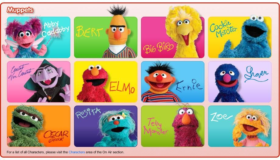 Sesame Street Character Pics Google Search In 2020