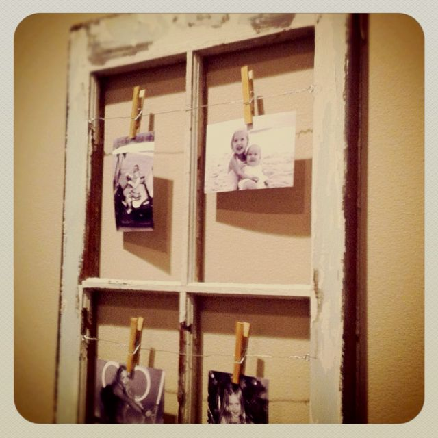 Old window pane DIY project | DIY | Pinterest | The old, We and ...