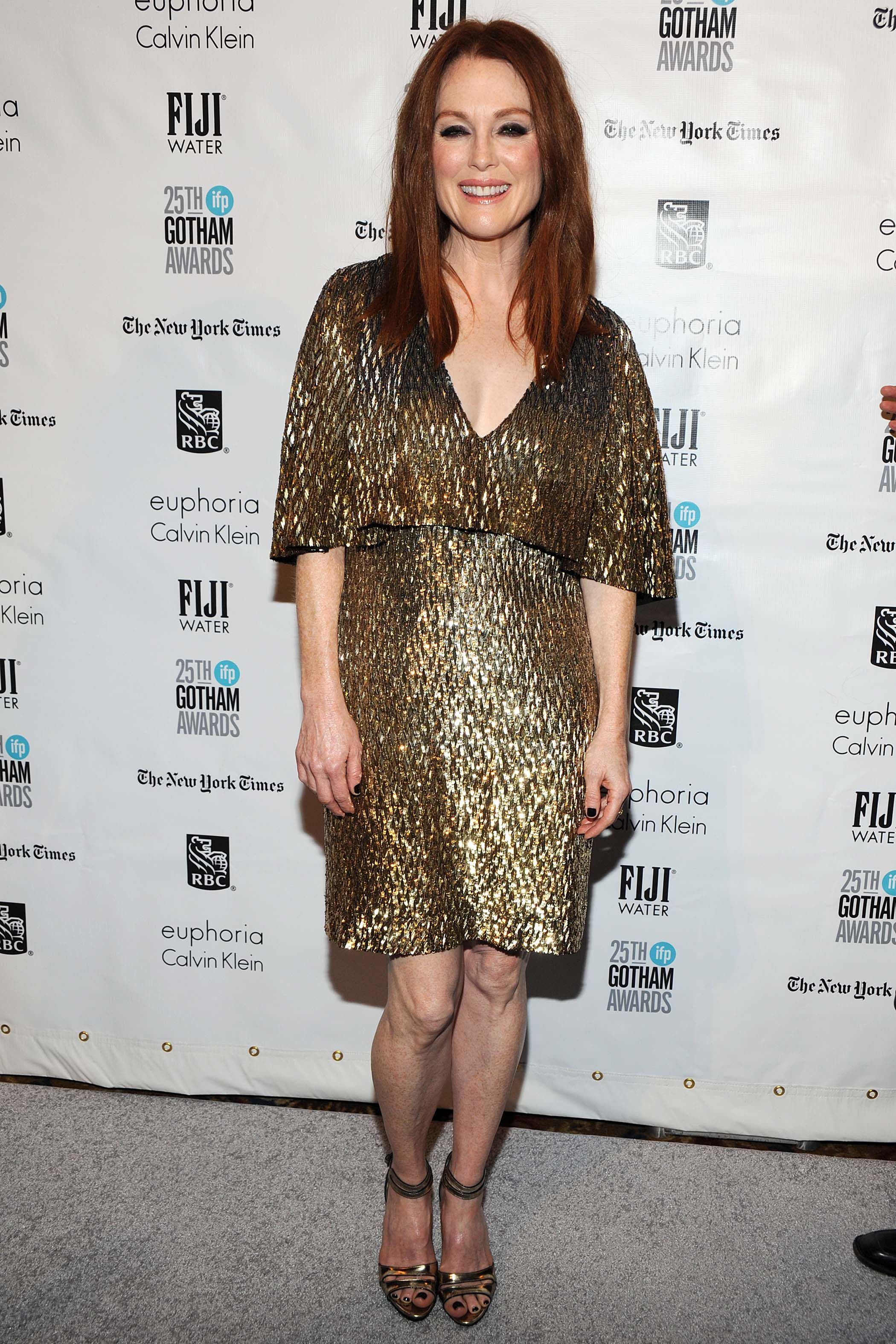 Julianne Moore attends the 25th Annual Gotham Independent Film Awards at Cipriani Wall Street on November 30, 2015 in New York City.
