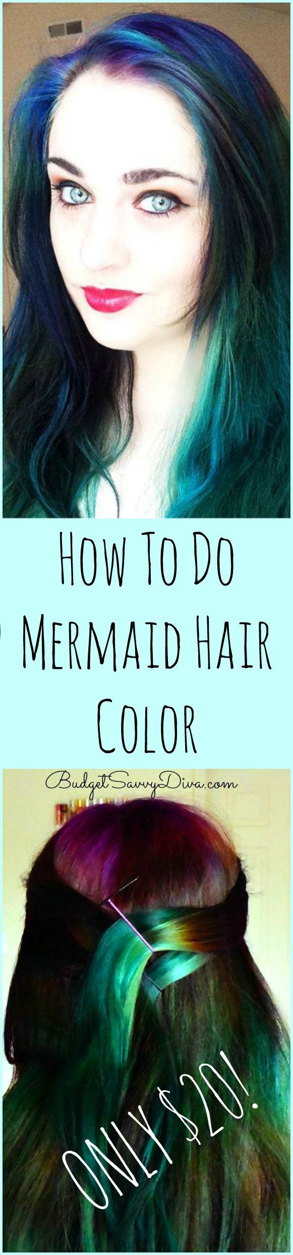 How To Do Mermaid Hair Color Only 20 Cost Cyber Monday All Year