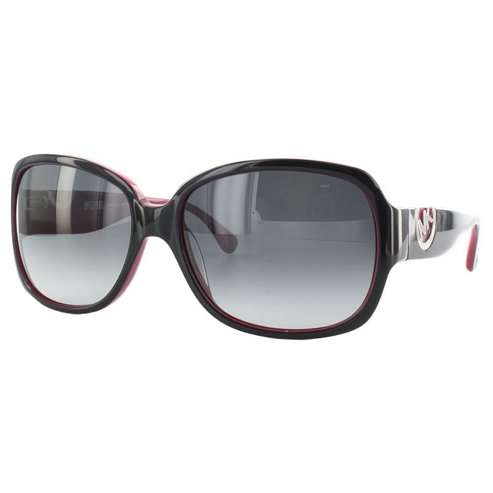c12df4768c068 Michael Kors M2769S-001 Women s Grenadines Black   Purple Plastic Frame  Gradient Gray Lenses Sunglasses