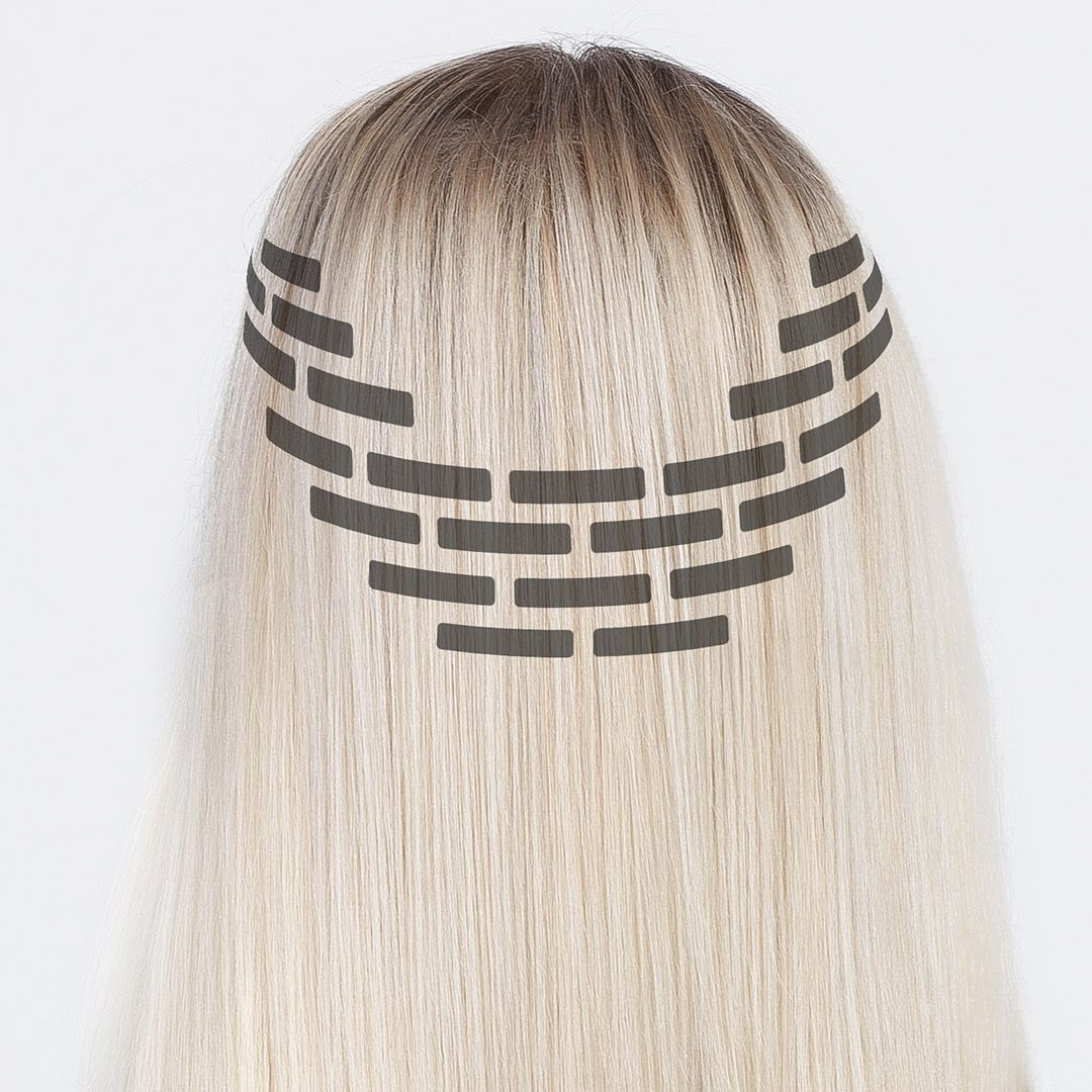 Tape On Hair Extensions Attachmebt Step By Step Rapunzel Rapunzel Of Swed Hair Extensions Tutorial Tape In Hair Extensions Hair Extensions For Short Hair
