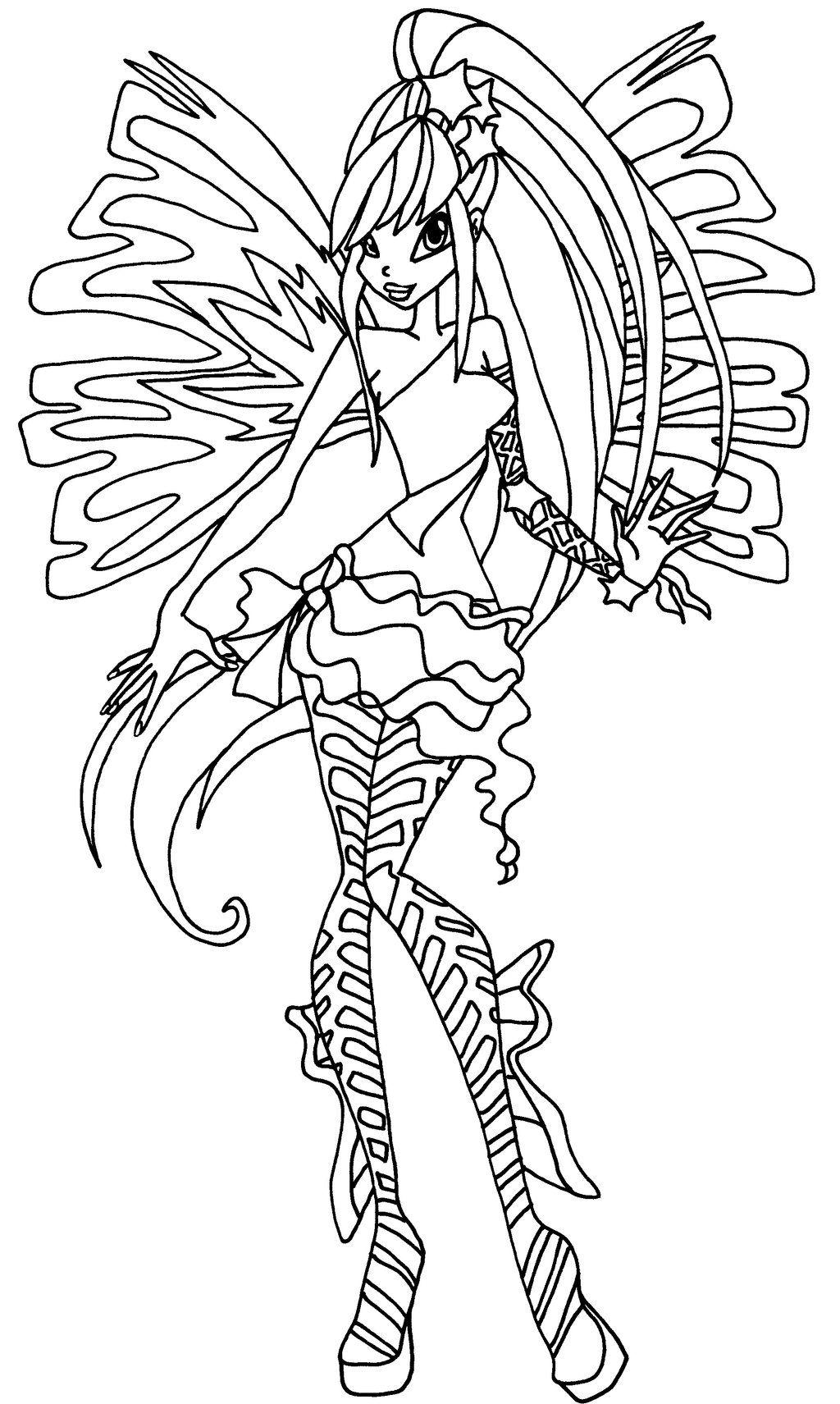 Sirenix Stella By Elfkena On Deviantart Princess Coloring Pages Cartoon Coloring Pages Princess Coloring