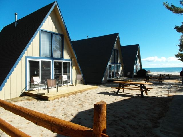 Boardwalk Beach   Boat House   Lake Huron Resort   Oscoda Michigan Vacation  Rentals Lake Huron Homes, Sunrise Side, North Eastern Michigan