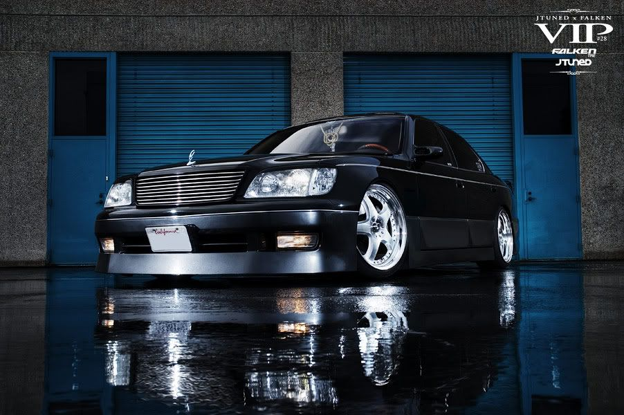 Japanese VIP Style  Prestige is an important element of