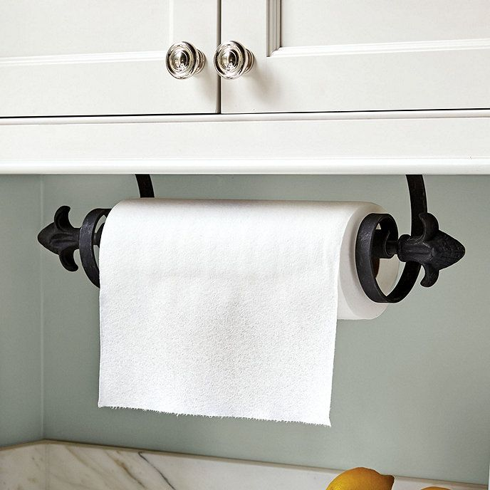 Under The Cabinet Paper Towel Holder Alluring Ballard Undercabinet Mount Paper Towel Holder  Paper Towel Holders Decorating Design